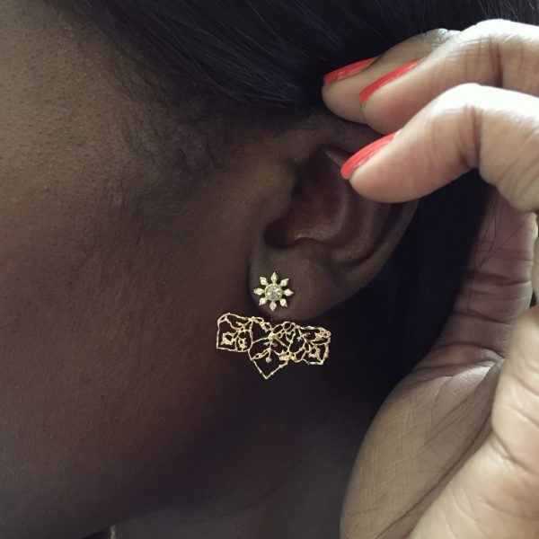 Natalie Perry, Fairtrade Gold ear jackets