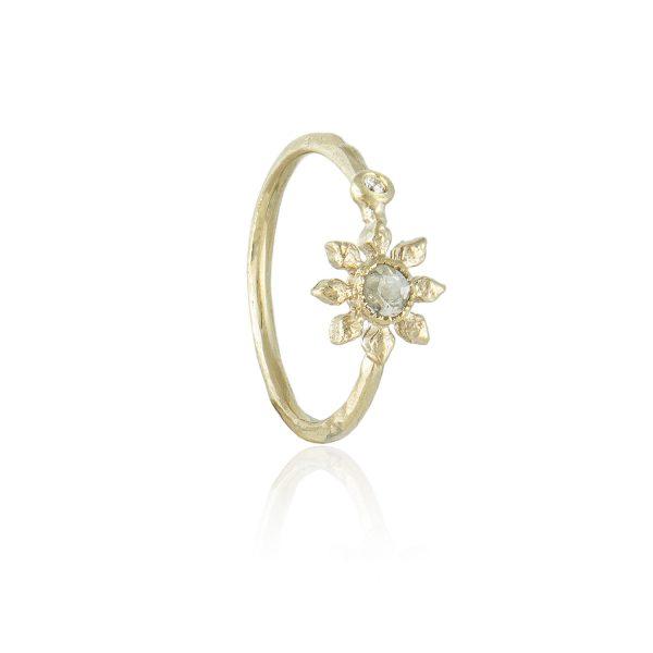Natalie Perry, Diamond Flower Ring