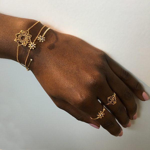 Natalie Perry Fairtrade Gold bracelet