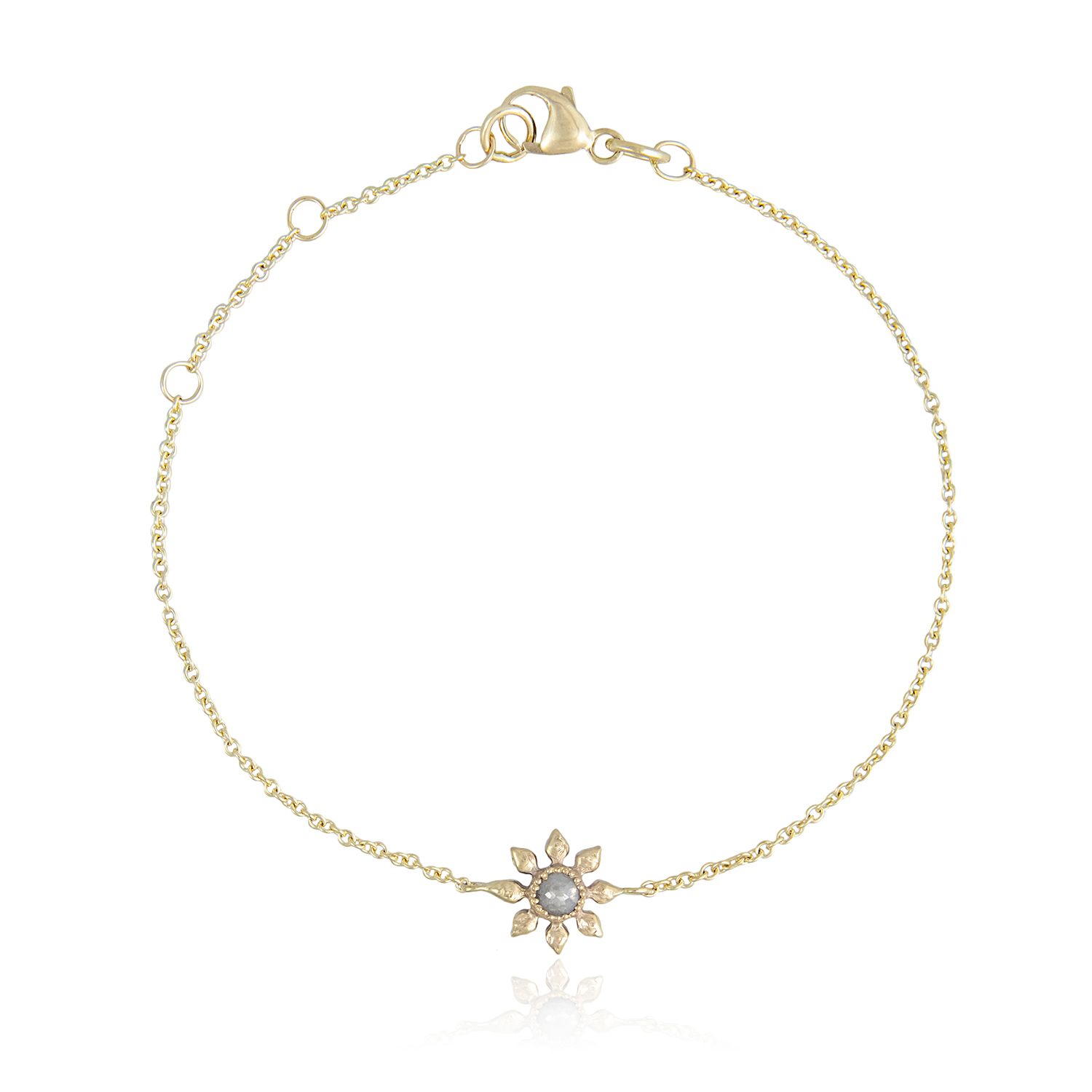 Natalie Perry Jewellery, Diamond Flower Bracelet