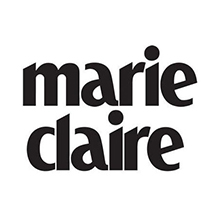 Natalie Perry Marie Claire logo