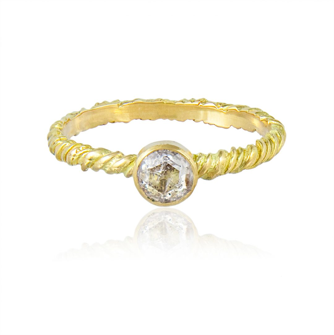Natalie Perry, Ethical Engagement Ring, Diamond Solitaire