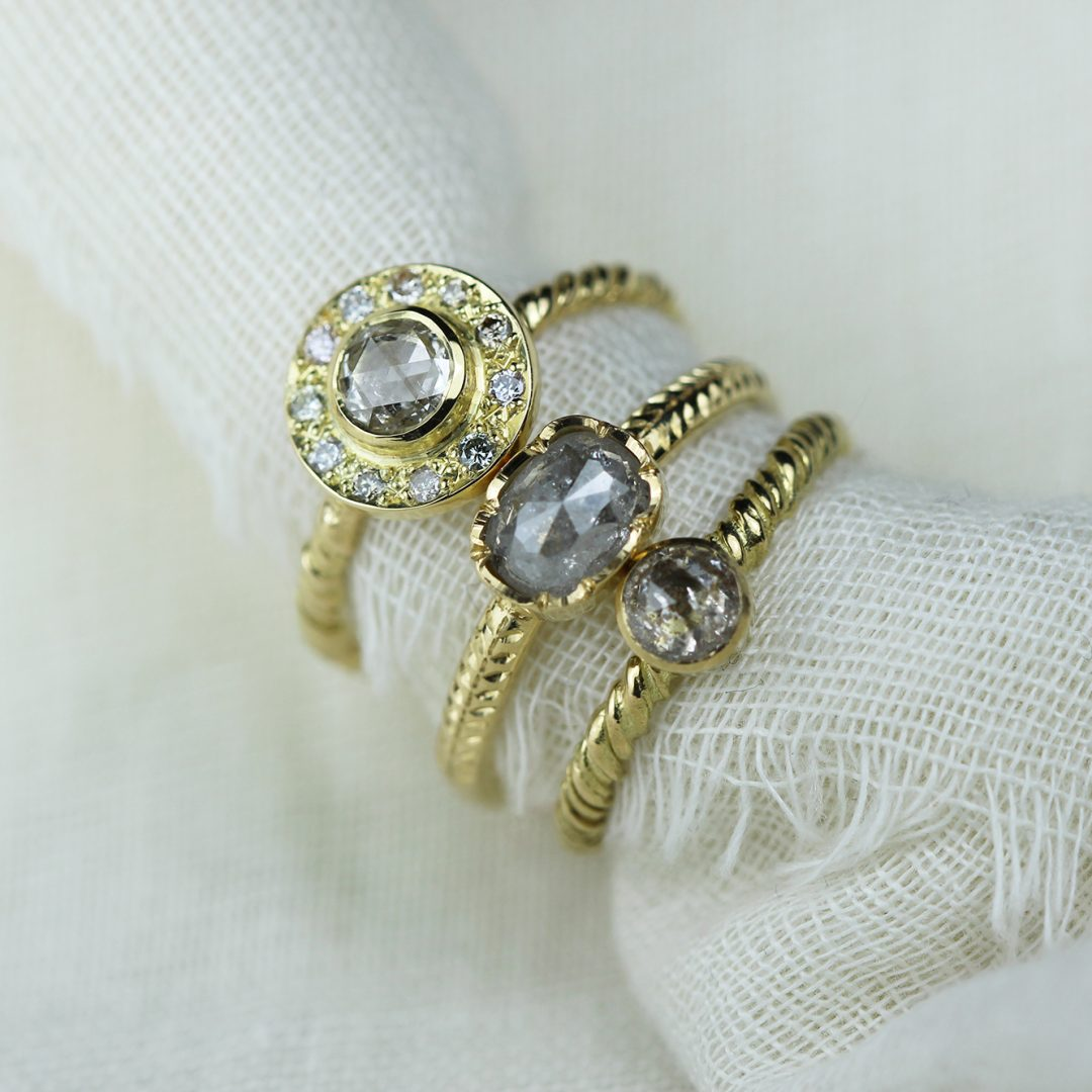 Natalie Perry Jewellery, Sustainable Engagement Rings selection