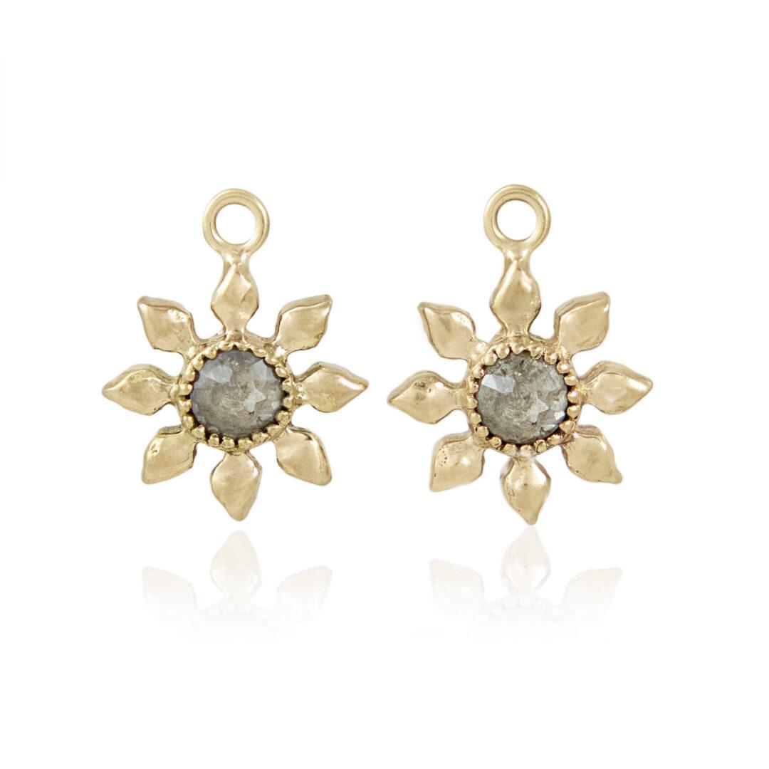 Natalie Perry Jewellery, Diamond Flower Charms