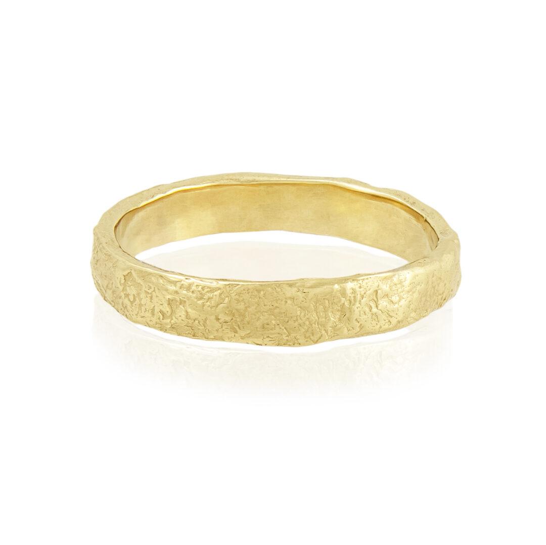 Natalie Perry Jewellery, Organic Wedding Ring 3.5mm