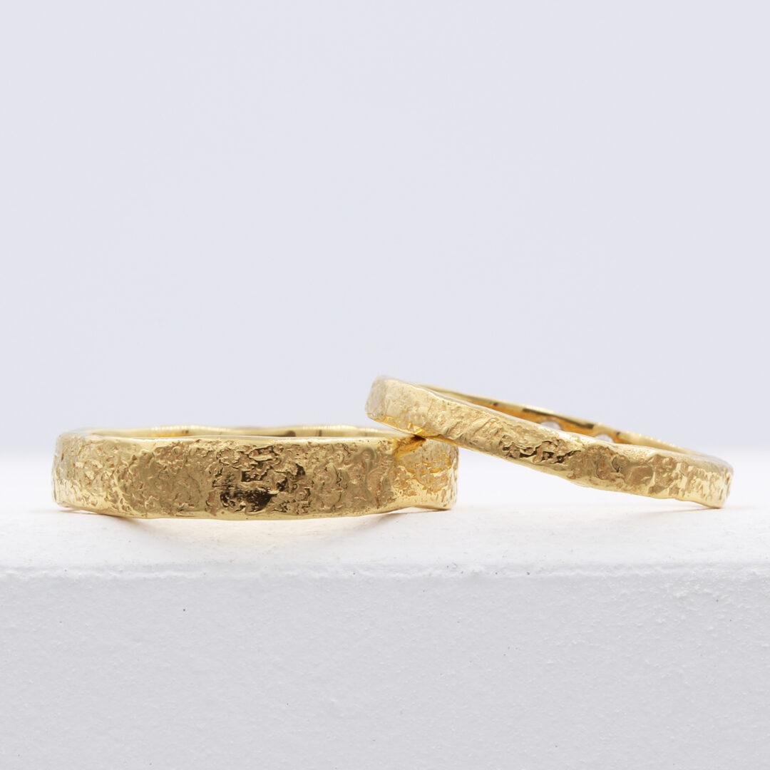 Natalie Perry Jewellery, Organic Wedding Rings